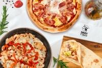 Пицца и сэндвичи