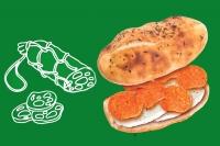 Сэндвич с колбаской